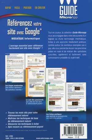 Référencement dans les moteurs de recherche - MOSAIQUE Informatique - Nancy - 54 - Meurthe et Moselle - Lorraine